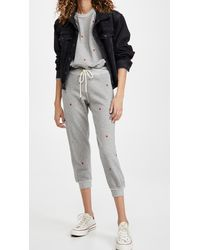 The Great The Cropped Sweatpants - Gray