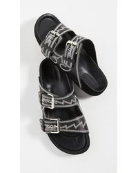 Isabel Marant Lennyo Sandals - Black