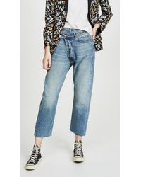 R13 Crossover Jeans - Blue
