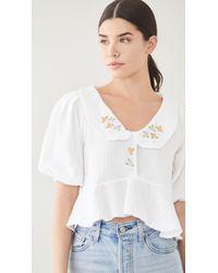 Tach Clothing Larina Top - White