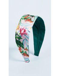 NAMJOSH - Floral Headband - Lyst
