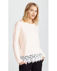 Generation Love | Whitney Lace Jumper | Lyst