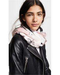 Kate Spade - Usa Map Oblong Scarf - Lyst