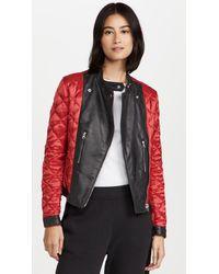 MM6 by Maison Martin Margiela Sports Jacket - Red