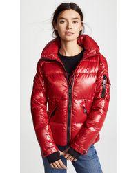Sam. Freestyle Jacket - Red