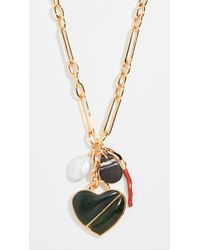 Lizzie Fortunato - Venice Heart Necklace - Lyst
