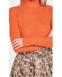 Ganni Light Merino Knit Pullover - Orange