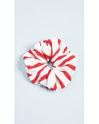Solid & Striped - The Red Breton Scrunchie - Lyst
