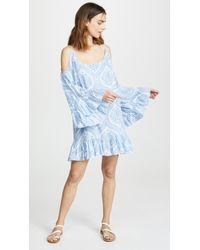 Tiare Hawaii Hana Dress - Blue