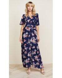 Ella Moon - Floral Maxi Dress - Lyst