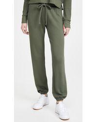 LNA Waffle Sweatpants - Green