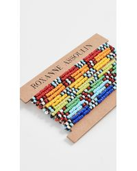 Roxanne Assoulin New Patchwork Bracelet - Multicolor