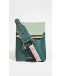 Strathberry Stylist Crossbody Bag - Green