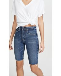 GOOD AMERICAN Bermuda Shorts - Blue