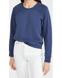 Madewell Shrunken Sweatshirt - Blue
