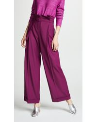 Anna October - Wide Leg Pants - Lyst