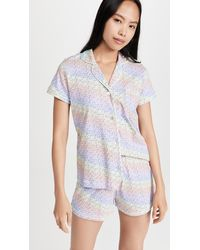 Roberta Roller Rabbit Disco Hathi Polo Pyjama Set - Blue