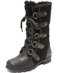 Sorel - Emelie Lace Boots - Lyst