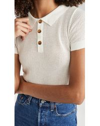 Lioness Callie Cropped Top - White