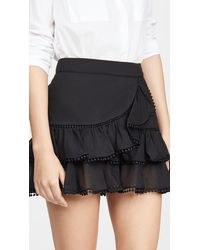 Charo Ruiz Fera Skirt - Black