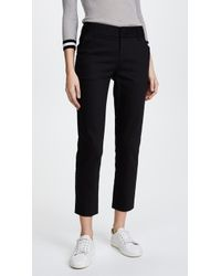 Alice + Olivia Stacey Slim Trousers - Black