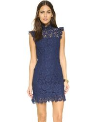 One By Into The Night Dress - Blue