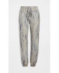 Sundry Shibori Sweatpants - Grey