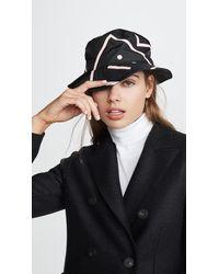 Acne Studios - Nylon Bucket Hat - Lyst