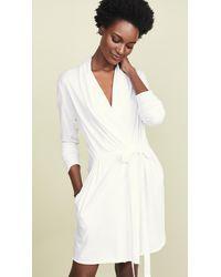 Skin Wrap Robe - White