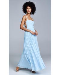 Fame & Partners The Erina Dress - Blue