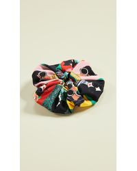 Alice + Olivia Cher Staceface Scrunchie - Multicolor