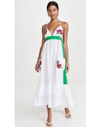 FANM MON Halter Dress - White