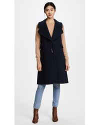 See By Chloé Toggle Vest - Blue