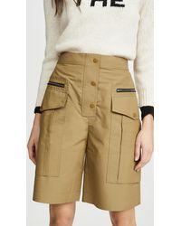 3.1 Phillip Lim Cargo Shorts - Natural