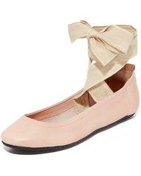 Free People - Degas Ballerina Flats - Lyst