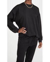 Onzie Boyfriend Sweatshirt - Black