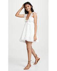 Peixoto Farrah Dress - White