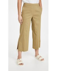 Theory Wide Pull On Trousers - Multicolour