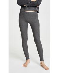 Maison Du Soir Madrid Thermal Pj Trousers - Gray