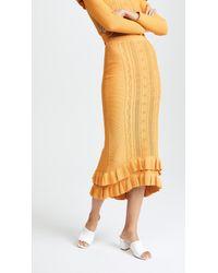 Alice McCALL Good Fortune Skirt - Orange