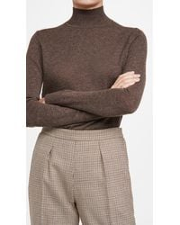 Theory Basic Turtleneck - Brown