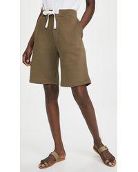 Tibi Sweatshirt Shorts - Multicolour