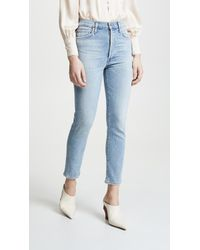 Citizens of Humanity - Olivia Crop High Rise Slim Ankle Jeans - Lyst