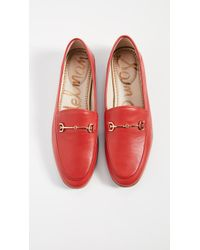 Sam Edelman Loraine Loafers - Red
