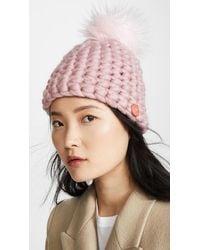 Mischa Lampert Deep Beanie Hat - Pink