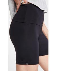Onzie Biker Short Shorts - Black