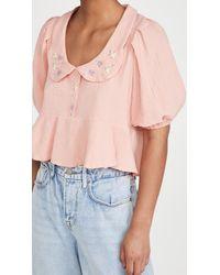 Tach Clothing Larina Top - Pink