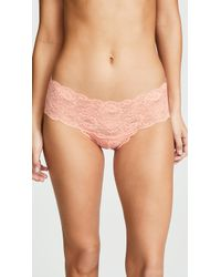 Cosabella - Never Say Never Hottie Low Rise Hotpants - Lyst