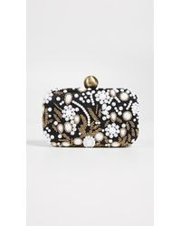 Santi | Bead Embroidered Box Clutch | Lyst