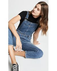 PAIGE - High Rise Sierra Overalls - Lyst